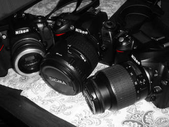 Nikon Family by LDFranklin