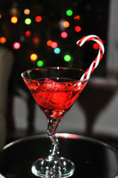 Red Martini VII by LDFranklin
