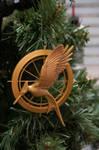 Mockingjay Christmas Ornament by LDFranklin