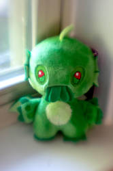 Cthulhu Plastic by LDFranklin