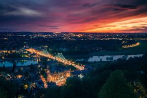 Blue Wonder Dresden by stg123