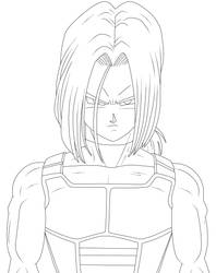 Trunks del futuro con armadura by cruzazul