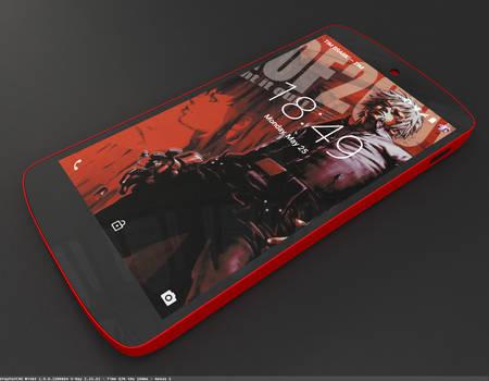 Nexus 5 by dragonballson