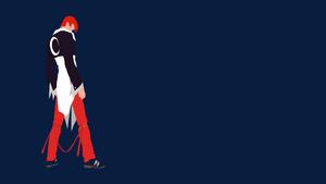 Iori Minimalist by dragonballson