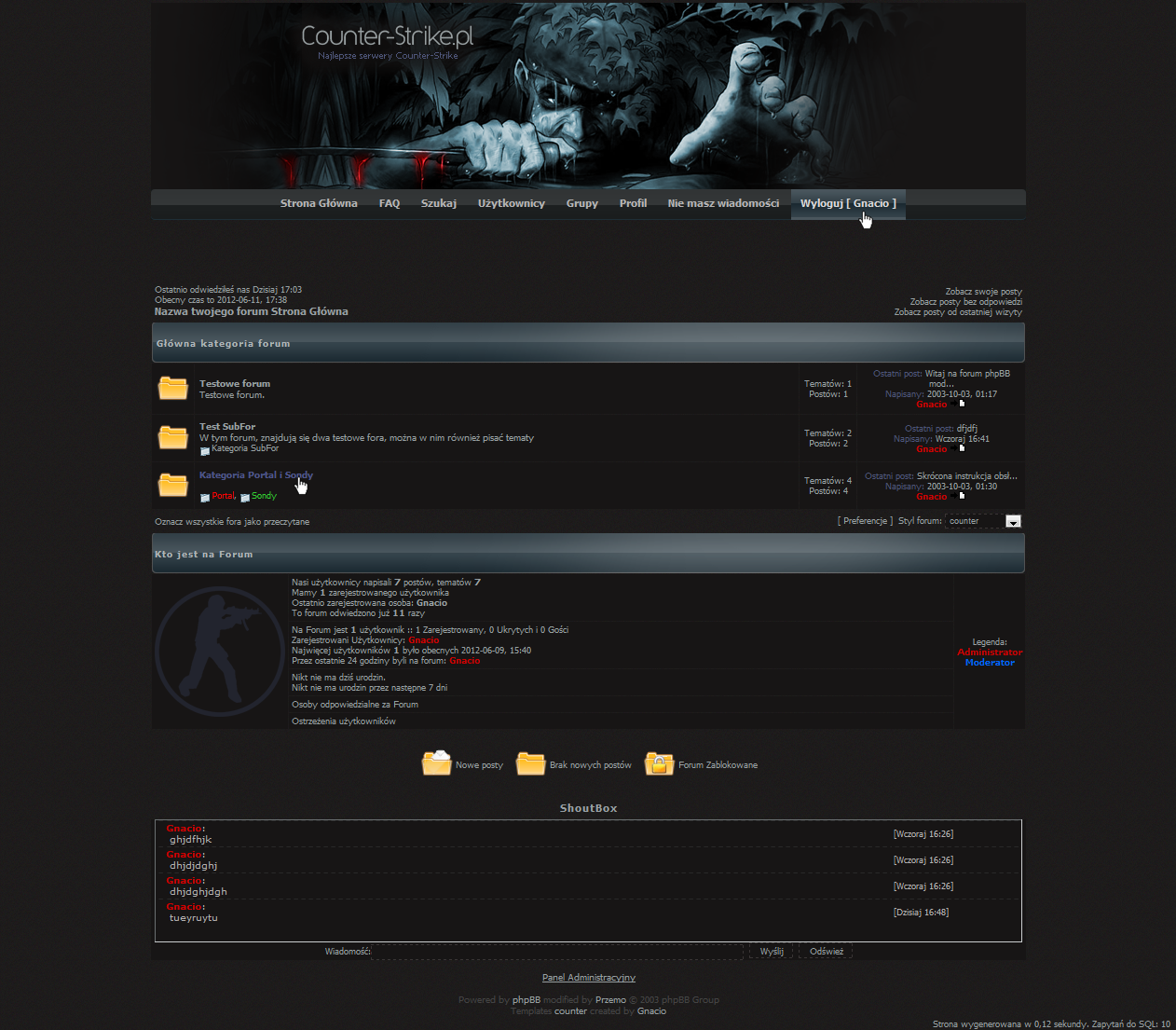 Counter-Strike forum by Gnacio92