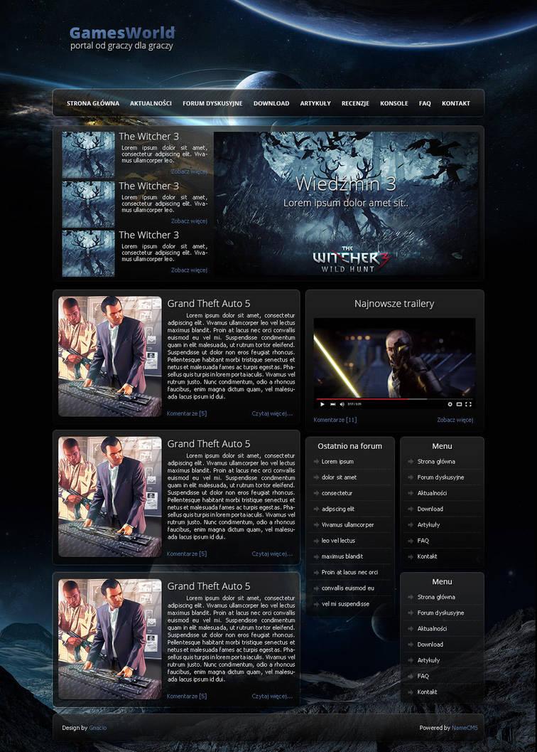 GamesWorld by Gnacio92