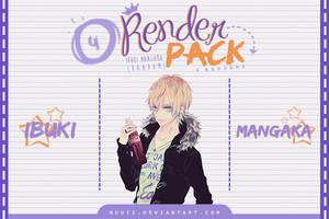 Render Pack #04 - Ibuki.Mangaka by Nuuii