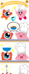 Kirby: Cook Time by Kumama