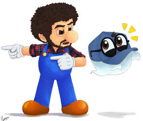 Gift: Super Mario Odyssey by Kumama