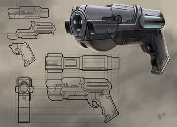 scifi gun02 by Flycan