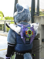 Wolf - Backpack by furinchime