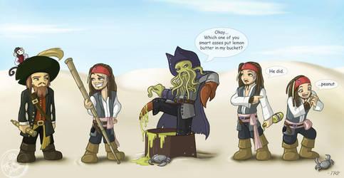 Chibi Pirates - spoilerish by furinchime