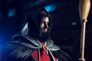 Medivh - World of Warcraft cosplay portrait by Lynx-cosplay