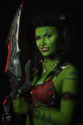 Garona Halforcen - World of Warcraft cosplay by Lynx-cosplay