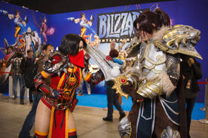 Vanessa VanCleef and Varian Wrynn - WoW cosplay by Lynx-cosplay