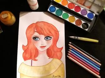 Redhead by Menelda