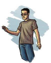 Digital Sketch 009 by IHMPCYPAWB