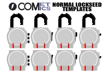 Normal Lockseed Templates by CometComics