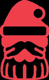 Santa Claus Fullbottle Icon by CometComics