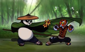 Po and Tigress 'TigerLily' by JasmineAlexandra