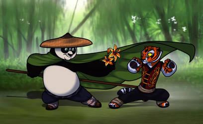 Master tigress and po picture 366