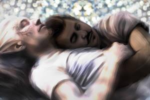 DAI: DorianXLavellan Dream of Me Vhenan'ara by JasmineAlexandra