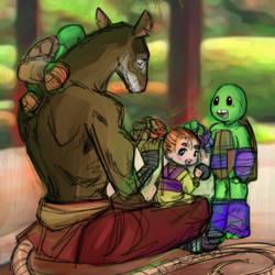 Splinter's Children by JasmineAlexandra