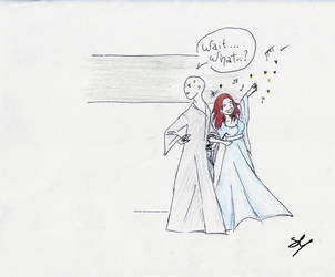 Hand in hand with Voldemort by vikiuz