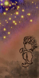 Under the stars by vikiuz