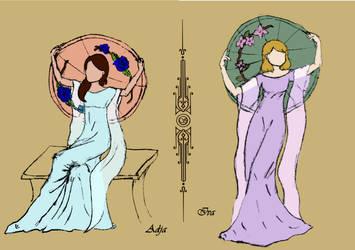 Sisters by vikiuz