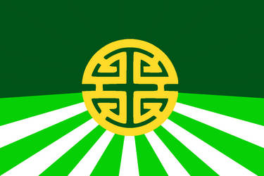 Flag of The Jade Empire by ArthurDrakoni