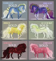 Flower Pony Adopts (CLOSED) by Nebunezzari