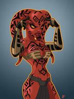 Darth Talon Color Version by PatrickFinch