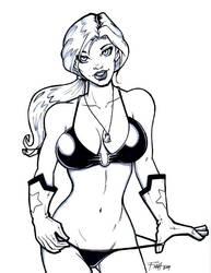 Scarlett from G.I. Joe by PatrickFinch