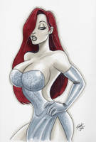 Jessica Rabbit by PatrickFinch