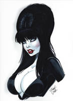 Elvira Mistress of the Dark by PatrickFinch