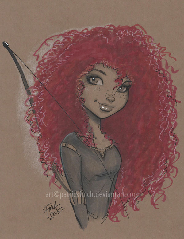 Merida by PatrickFinch