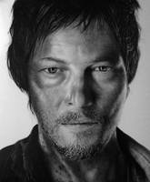 Daryl Dixon Pencil Portrait by TricepTerry