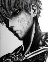 Genos - One Punch Man by TricepTerry