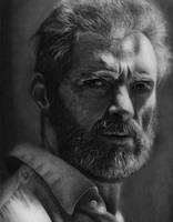 Logan - Wolverine Pencil Portrait by TricepTerry