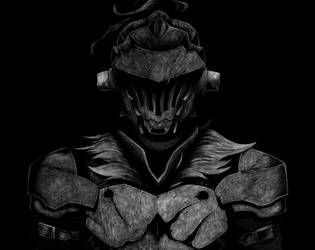 Goblin Slayer Pencil Drawing by TricepTerry
