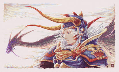 Warrior Of Light by AshnoAlice