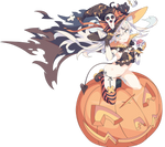 Kantai collection amatsukaze vector halloween by kyuubi3000