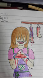 Goretober Day24 : Cannibal by Willize