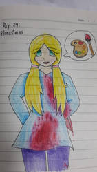 Goretober Day29 : Bloodstains by Willize