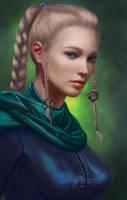 7th Totem - Freyra Vallaert by Sirinne