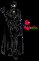 Lineart Rey Endymion Crystal by karenpa