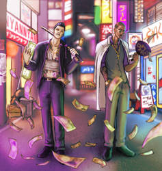 Yakuza Saints by Nyan27
