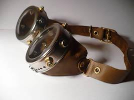 Steampunk goggles by Mach-Volt