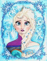 Frozen, Elsa by barbaramj